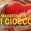 Domenica la 1^ Maratona di Perugia ChocoMarathon