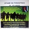 Dal 24 luglio stage di podistica in Abruzzo