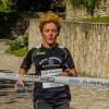 Pronti via …. e l'ASD Running Vairano è già prima con una sua atleta , Peluso Antonietta.