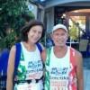 10 maratone  in 10 giorni per Angela Gargano e Michele Rizzitelli