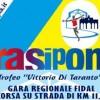 28 luglio 2018 Strasiponto, manifestazione regionale di corsa su strada a circuito