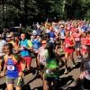 Maratona di Suviana  con il caldo
