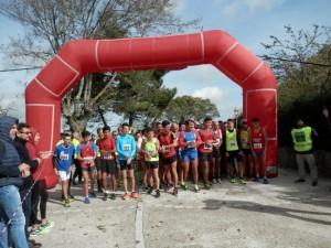 2017 Partenza corsa in montagna