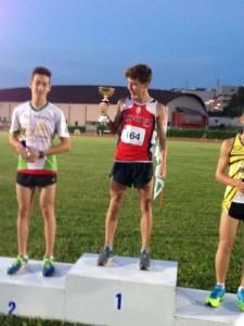 Andrea Romani podio