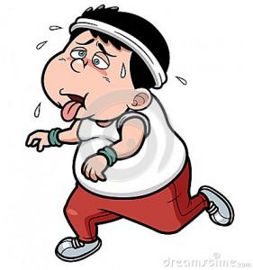 Atleta grasso