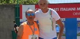 Tullio Hrovatin sul podio 100 Hs record italiano
