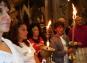 Le fiaccole e la Napoli corre per San Gennaro