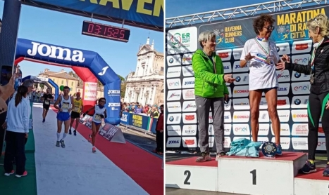 E' Annamaria Caso (da Praiano) la Campionessa Italiana di Maratona over 55