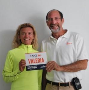 Valeria Straneo alla New York City Marathon