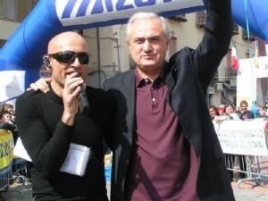 Mennea e Marco Cascone