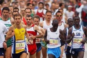 Vedelago (TV)  24-04-2005  Partenza della Maratona di Sant'Antonio.