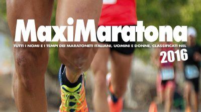 Record di maratoneti italiani nel 2016 (con allegato un estratto di  Maximaratona 2016) 5e78e94b0b1