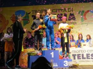 podio donne telese 2016